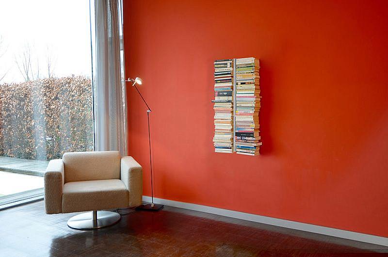 Produktové foto Radius design cologne Knihovna 10 poliček RADIUS DESIGN (BOOKSBAUM silber WAND 1 KLEIN 720C) stříbrná