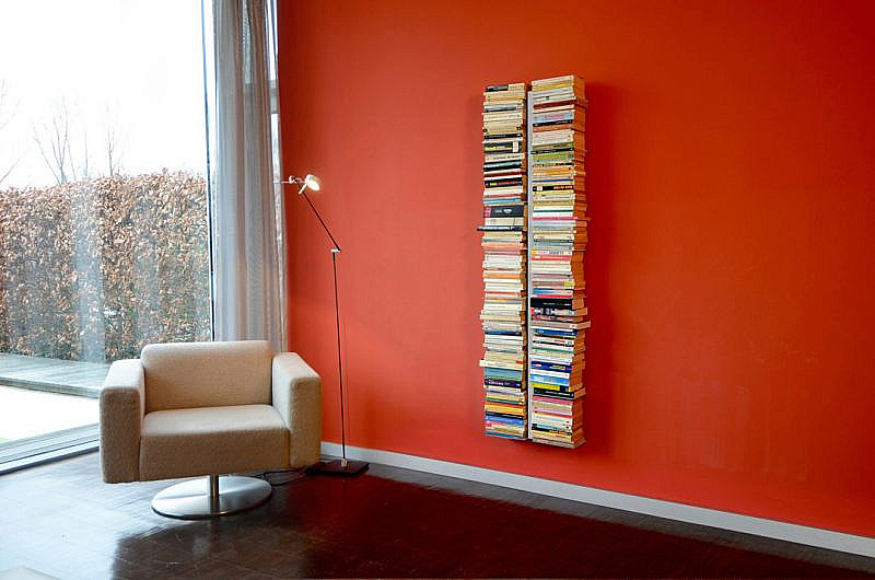 Produktové foto Radius design cologne Knihovna 16 poliček RADIUS DESIGN (BOOKSBAUM silber  WAND 1 GROSS 721C) stříbrná