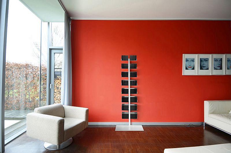 Produktové foto Radius design cologne Pořadač na CD 16 poliček RADIUS DESIGN (CD-BAUM weiss STAND GROSS 719B) bílý
