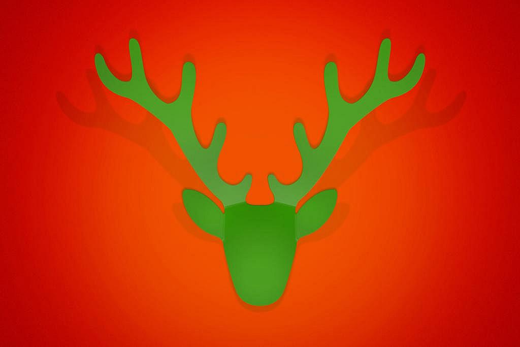 Radius design cologne Věšák RADIUS DESIGN (TROPHAE grün 480C) zelený