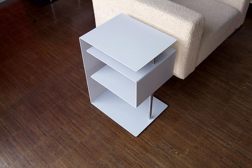 Radius design cologne Stolek RADIUS DESIGN (X-CENTRIC TABLE silber 530A) stříbrný