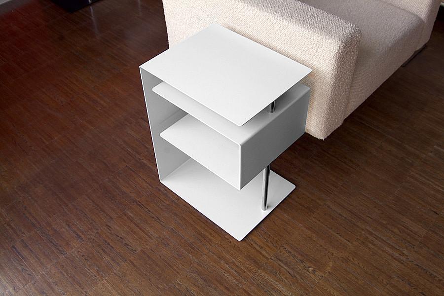 Radius design cologne Stolek RADIUS DESIGN (X-CENTRIC TABLE weiss 530C) bílý