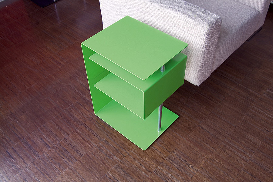 Radius design cologne Stolek RADIUS DESIGN (X-CENTRIC TABLE grün 530D) zelený