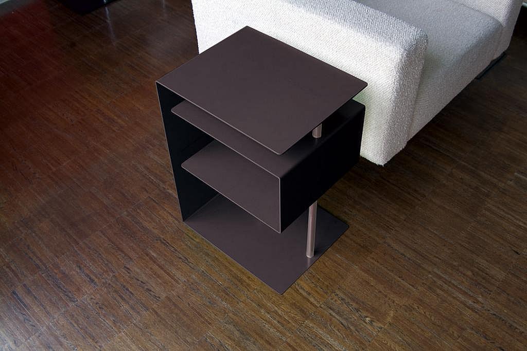 Radius design cologne Stolek RADIUS DESIGN (X-CENTRIC TABLE schwarz 530E) černý