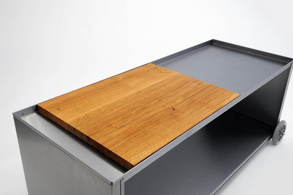 Radius design cologne Dřevěná deska k vozíkům na dřevo RADIUS DESIGN (HOLZPLATTE 470C)