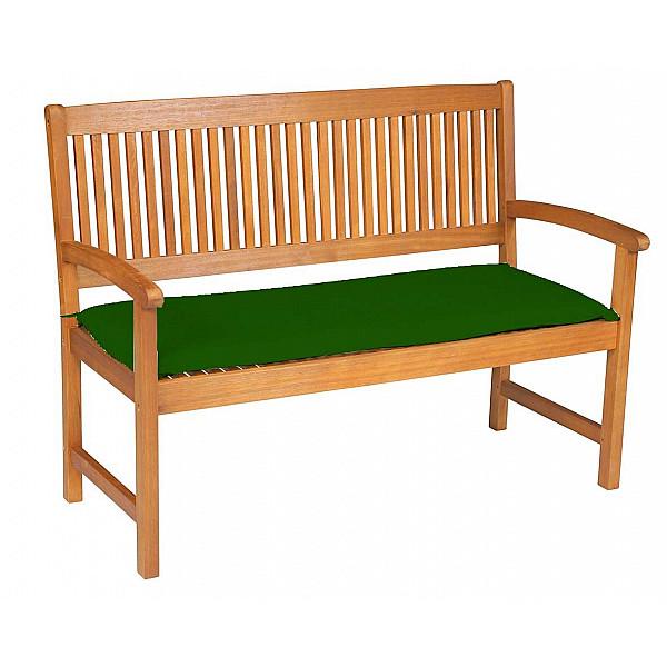 DOPPLER VÝPRODEJ Doppler Poduška na třímístnou lavici UNI (zelená) zelená (60283Y904)