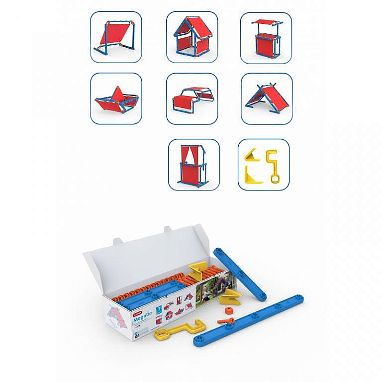 DEOKORK Dětská multifunkční stavebnice pro děti