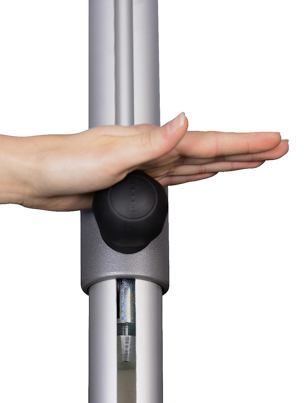 Produktové foto DOPPLER Slunečník Doppler PROFILine ALU EXPERT 300 x 300 840 antracit