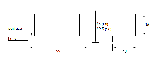 Produktové foto Radius design cologne BIO krb volně stojící Radius design cologne (UNI FLAME 3L 544G)