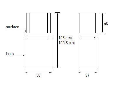 Produktové foto Radius design cologne BIO krb volně stojící Radius design cologne (SEMI FLAME 553C)