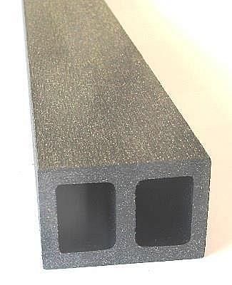 Podkladový hranol UNVOC TMAVĚ ŠEDÁ (FSC 100%) 40 mm x 60 mm x 2200 mm
