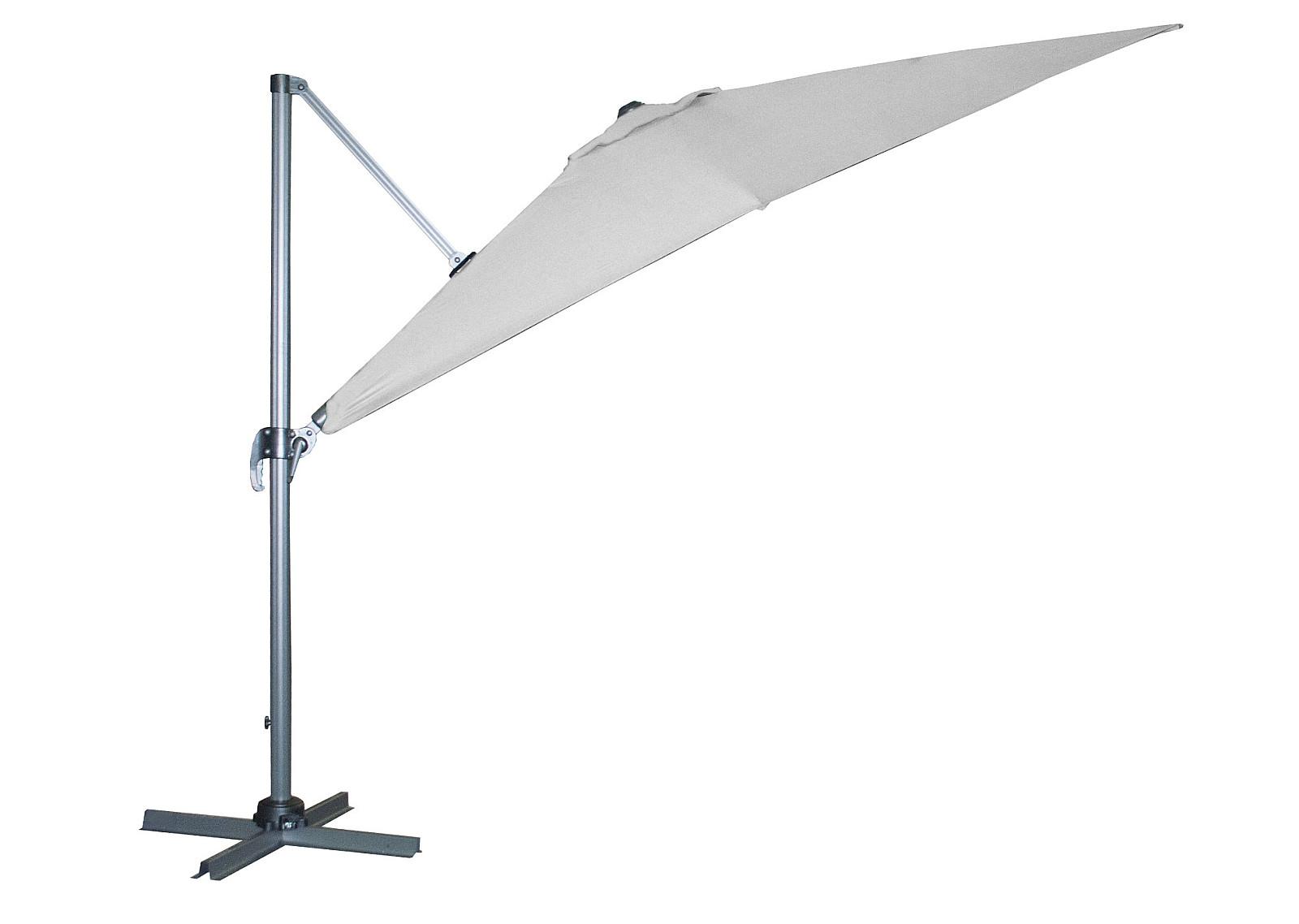 Produktové foto DOPPLER Slunečník výkyvný Doppler RAVENNA Axial 275 x 275 (různé barvy) 840 antracit