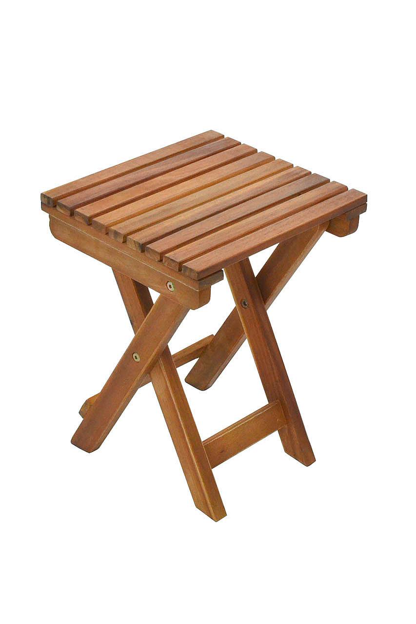 DEOKORK Zahradní stolek - stolička odkládací GEORGIA