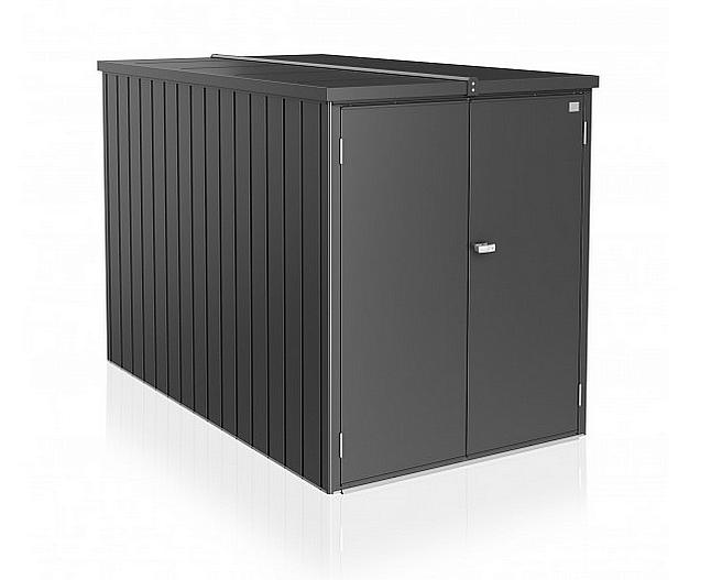 Biohort Multifunkční úložný prostorný box Minigaráž (tmavě šedá metalíza) Minigaráž (3 krabice)