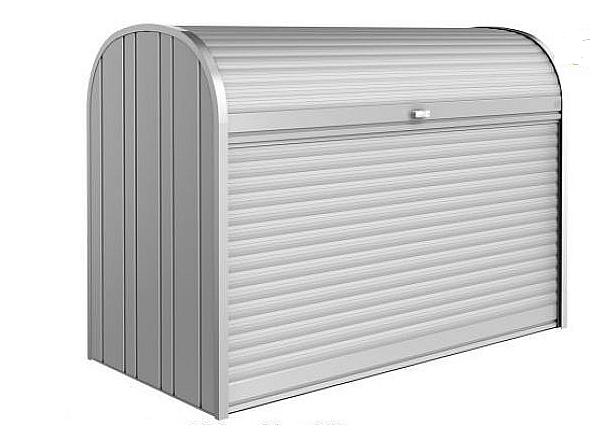 Biohort Mnohostranný účelový roletový box StoreMax vel. 120 117 x 73 x 109 (stříbrná metalíza)