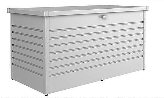 Levně Biohort Venkovní úložný box FreizeitBox 101 x 46 x 61 (stříbrná metalíza)