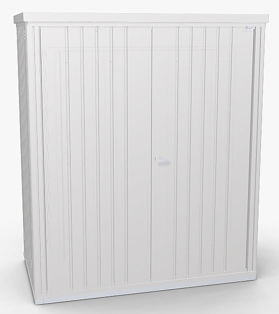 Biohort Skříň na nářadí Biohort vel. 150 155 x 83 (stříbrná metalíza) 150 cm (2 krabice)