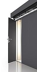 Biohort Dodatečné dveře k domečku Biohort CasaNova (stříbrná metalíza) levé