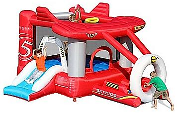 Belatrix Skákací hrad - letadlo