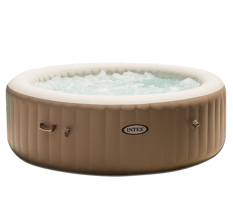 INTEX Nafukovací vířivka Pure spa pro 6 osob (bublinky+masáž) 1100L