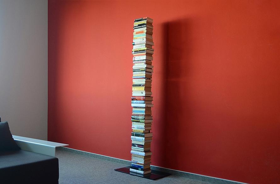 Radius design cologne Knihovna 8 poliček RADIUS DESIGN (BOOKSBAUM schwarz STAND BIG 735A) černá