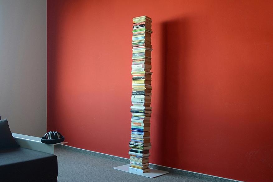 Radius design cologne Knihovna 8 poliček RADIUS DESIGN (BOOKSBAUM white STAND BIG 735B) bílá