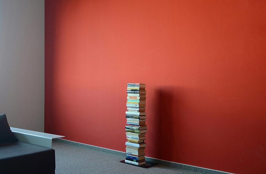 Radius design cologne Knihovna 5 poliček RADIUS DESIGN (BOOKSBAUM schwarz 2 STAND SMALL 734A) černá