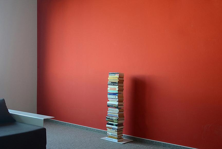Radius design cologne Knihovna 5 poliček RADIUS DESIGN (BOOKSBAUM white 2 STAND SMALL 734B) bílá
