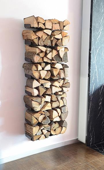 Radius design cologne Dřevník 16 poliček RADIUS DESIGN (WOODEN TREE WALL BIG 728A) černá