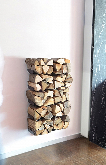Radius design cologne Dřevník 10 poliček RADIUS DESIGN (WOODEN TREE WALL SMALL 729A) černá