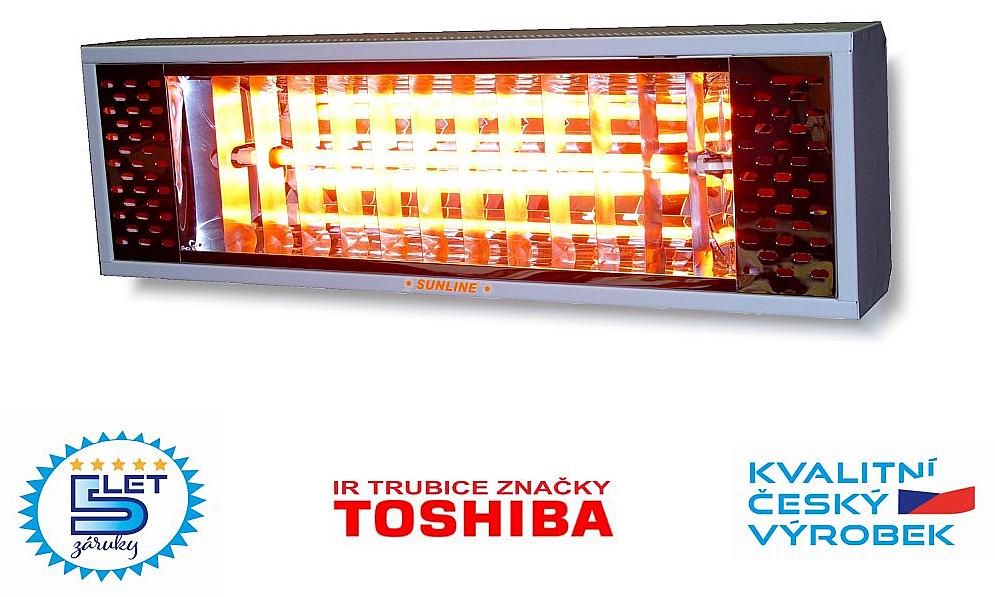 Infračervený zářič SUNLINE ELEGANT SE2000
