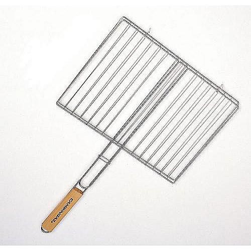 Campingaz CAMPINGAZ  Hranatý rošt 35 x 25 cm (dřevěná rukojeť)