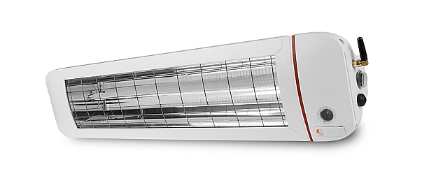 Knoch Infrarot-Technik Infrazářič ComfortSun24 2800W Bluetooth - bílý