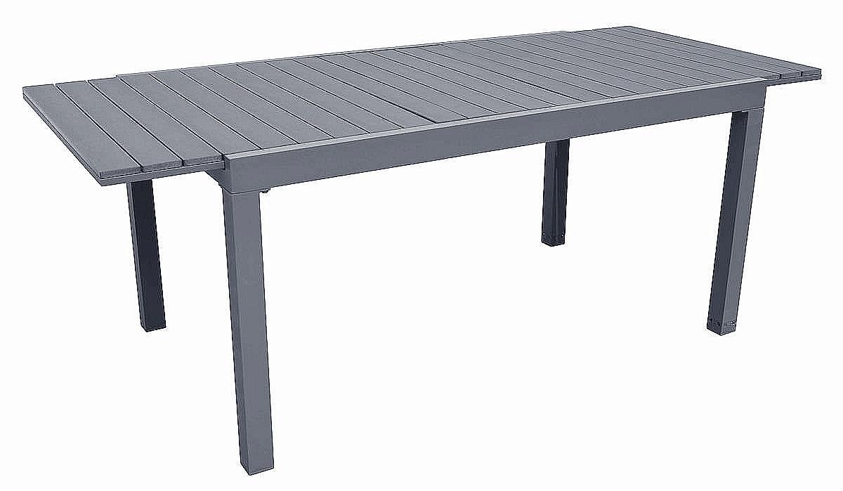 Stůl zahradní rozkládací CALVIN (šedý)