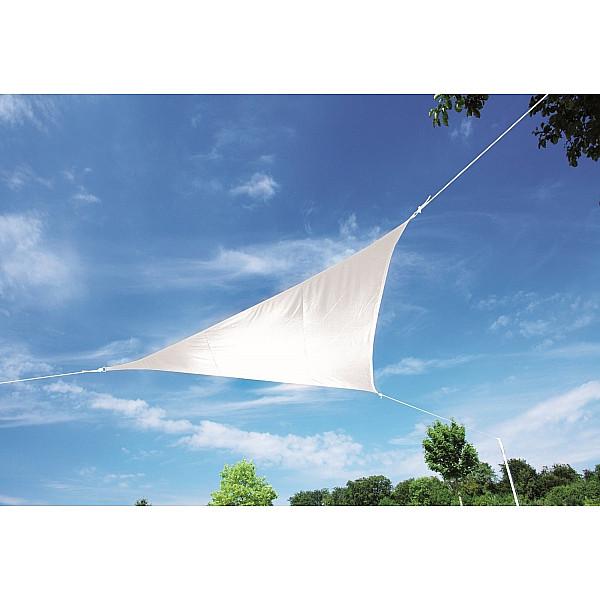 Produktové foto DOPPLER Doppler Sluneční clona trojúhelník ALUPRO  360 x 360 x 360 cm (různé barvy) 808 bílá