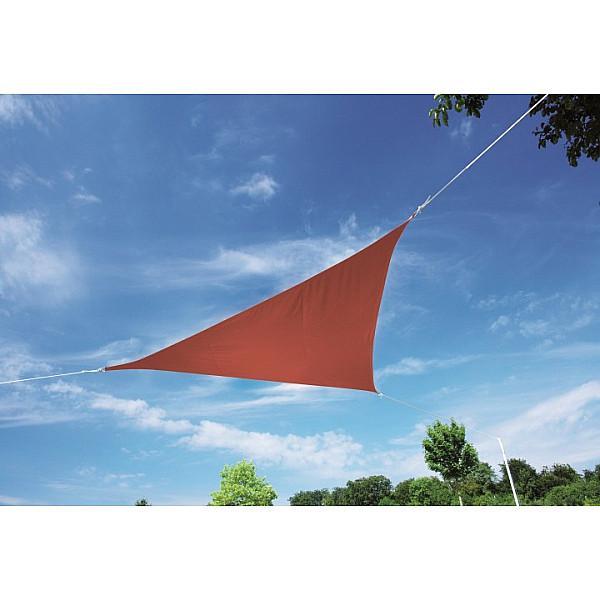 Produktové foto DOPPLER Doppler Sluneční clona ALUPRO trojúhelník 500 x 500 x 500 cm (různé barvy) 840 antracit