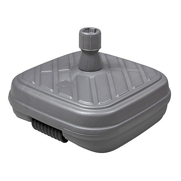 Produktové foto DOPPLER Doppler Plastový plnitelný sokl DESIGN s kolečky 50 kg (antracit)