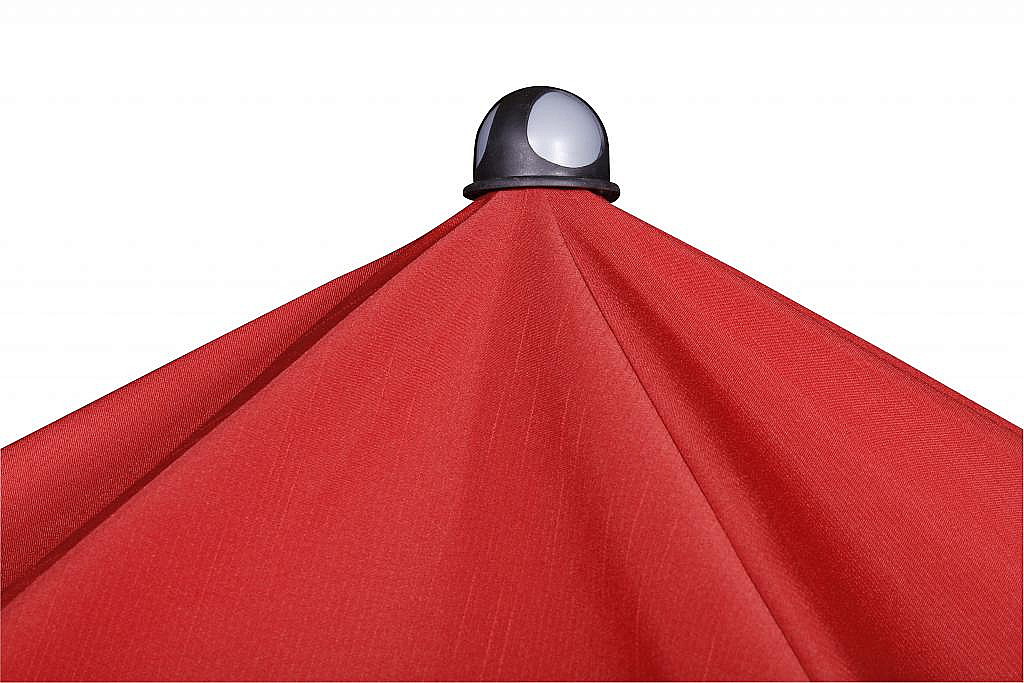 Produktové foto DOPPLER Slunečník Doppler SUNLine WATERPROOF III 185 x 120 (různé barvy) 809 červená