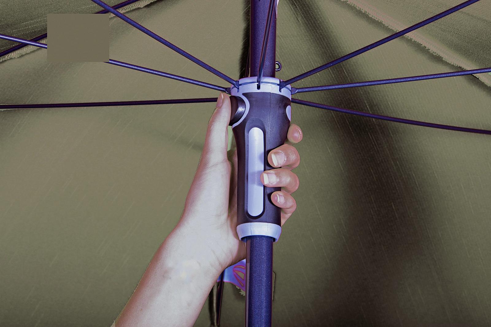 Produktové foto DOPPLER Slunečník Doppler SUNLine WATERPROOF III 230 x 190 (různé barvy) 809 červená